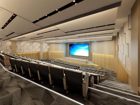 大会议室3D模型【ID:728301866】