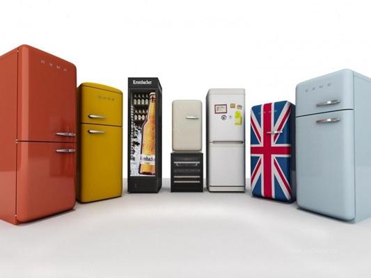冰箱组合3D模型【ID:127850250】
