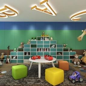 儿童玩具3D模型【ID:528000452】