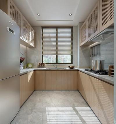 现代厨房3D模型【ID:427951935】