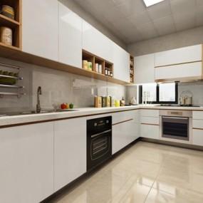 现代厨房3D模型【ID:527999013】