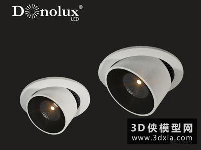 射燈國外3D模型【ID:929489183】