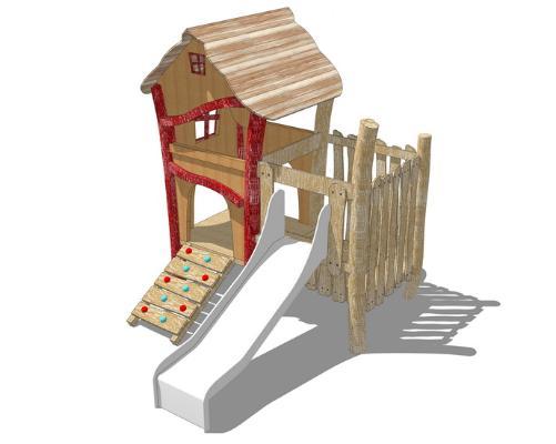 兒童滑梯SU模型【ID:947339624】