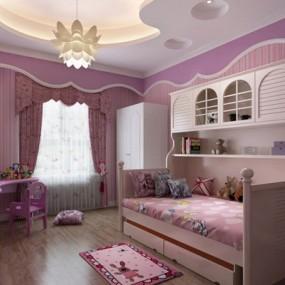 小孩房间3D模型【ID:427947644】