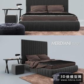现代风格床组合就�碛刑焓固籽b国外3D快三追号倍投计划表【ID:729314939】