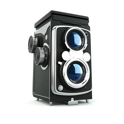 黑色照相机3D模型【ID:215233767】