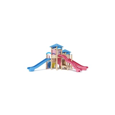 塑料儿童滑梯3D模型【ID:215250463】