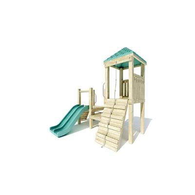 木艺儿童滑梯3D模型【ID:215250469】