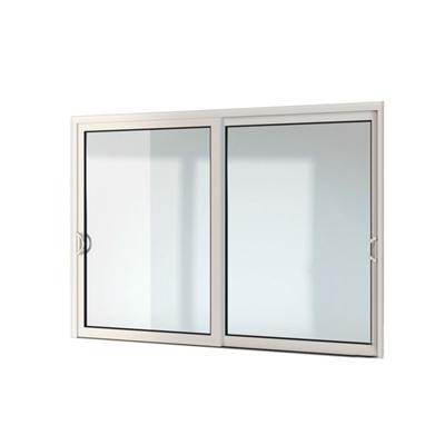 现代长方形玻璃推拉窗3D模型【ID:215251949】