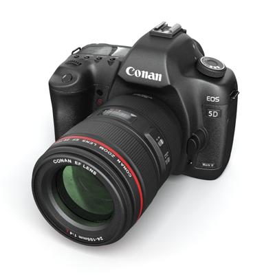 黑色照相机3D模型【ID:215252738】