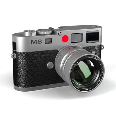 黑色照相机3D模型【ID:215252761】
