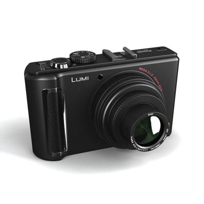 黑色照相机3D模型【ID:215252784】