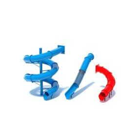 塑料儿童滑梯3D模型【ID:215267424】