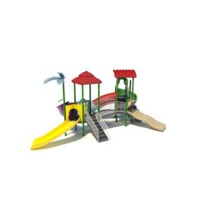塑料儿童滑梯3D模型【ID:215267483】