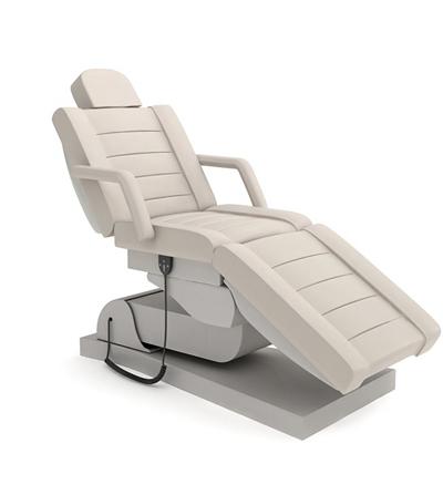 现代白色皮质躺椅3D模型【ID:215268697】