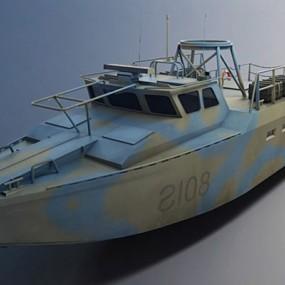 军用舰船3D模型【ID:215274896】