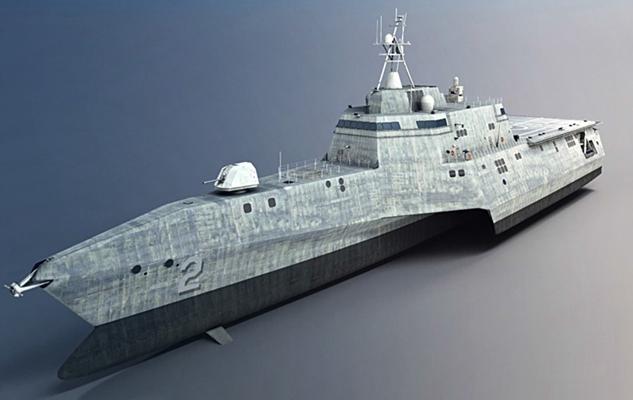 军用舰船3D模型【ID:215275803】