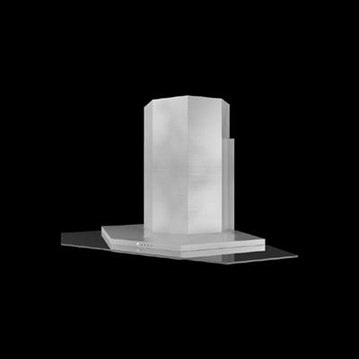 白色油烟机3D模型【ID:215282244】