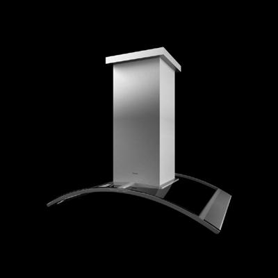 灰色油烟机3D模型【ID:215282265】