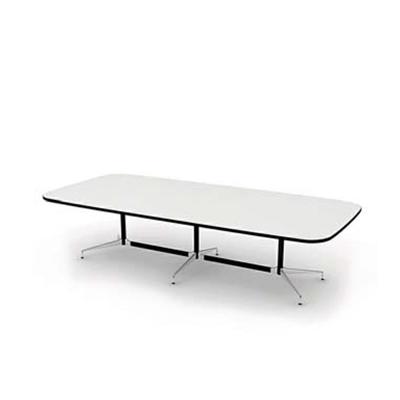 现代白色木艺会议桌3D模型【ID:215351382】