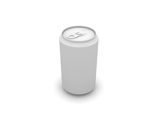 白模饮料3D模型【ID:215360553】