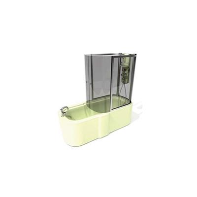 透明淋浴间73D模型【ID:215475520】
