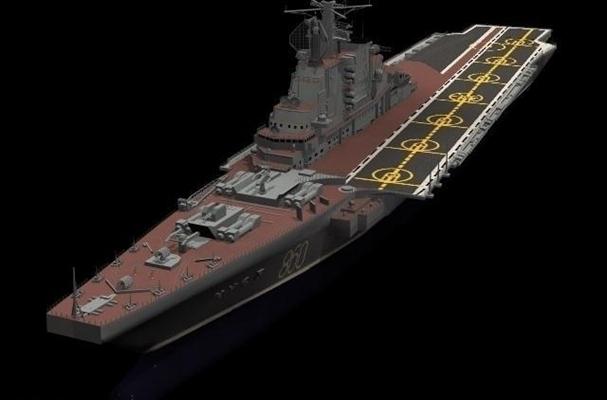 軍用艦船13D模型【ID:216934878】