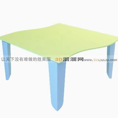 儿童学习桌23D模型【ID:216968134】