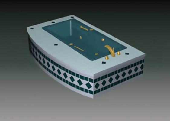浴缸73D模型【ID:217078009】