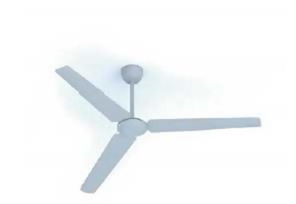 电风扇吊扇23D模型【ID:217108031】