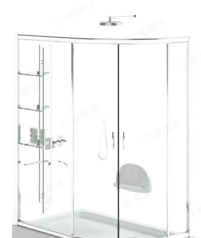 淋浴间13D模型【ID:217131599】