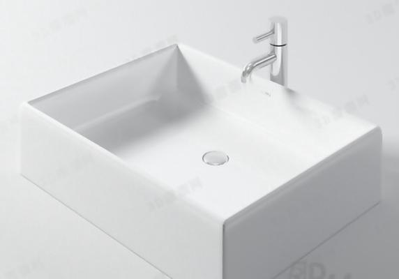 洗面盆43D模型【ID:217132372】