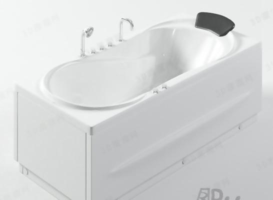 浴缸233D模型【ID:217133097】