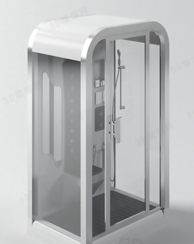 淋浴间13D模型【ID:217133584】