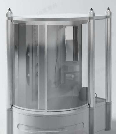 淋浴间53D模型【ID:217133593】