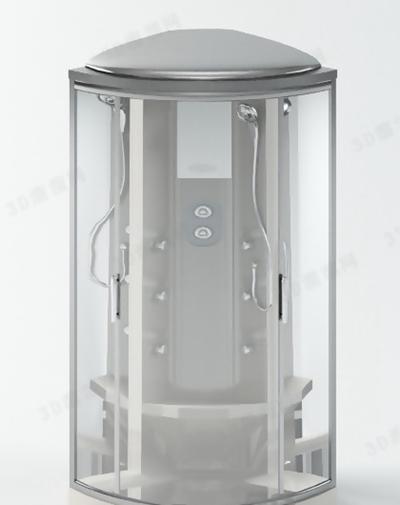 淋浴间93D模型【ID:217133598】