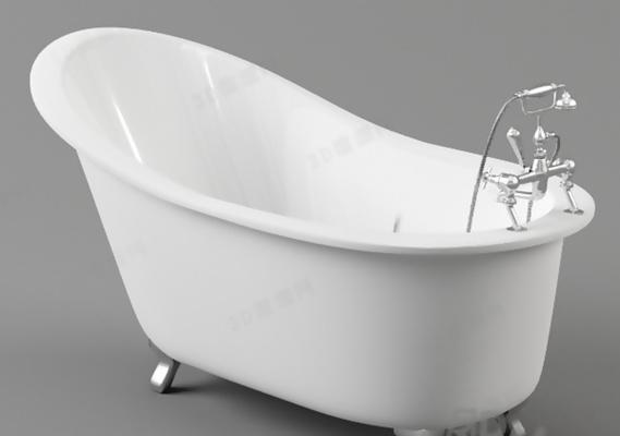 浴缸243D模型【ID:217134000】