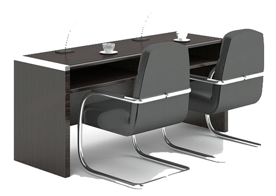 会议桌13D模型【ID:217137384】