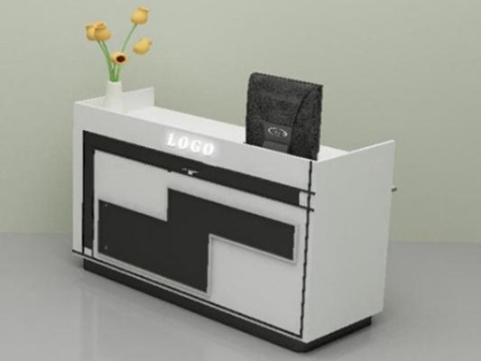 前台桌33D模型【ID:217138540】