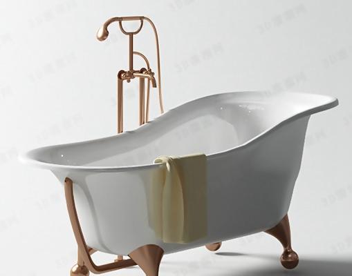 浴缸13D模型【ID:217210013】