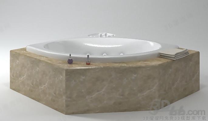 浴缸33D模型【ID:217256039】