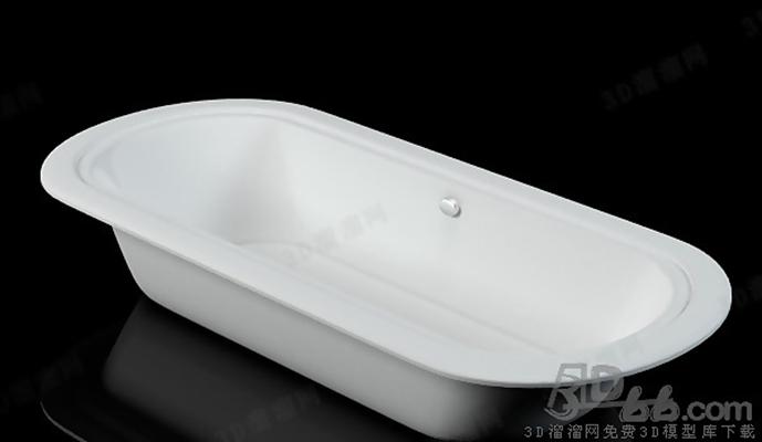 浴缸113D模型【ID:217256054】