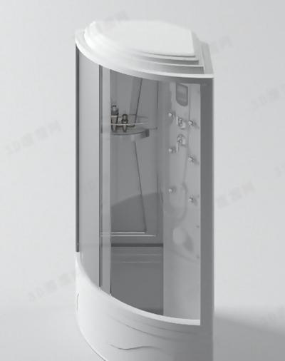 淋浴间53D模型【ID:217257586】