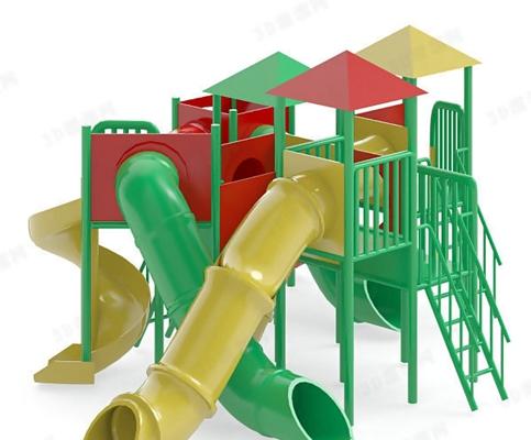 儿童滑梯13D模型【ID:217258433】