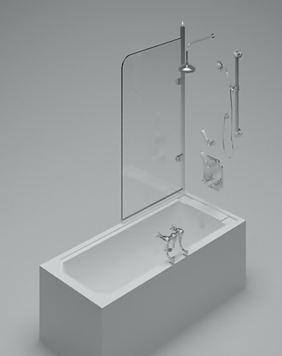 浴缸153D模型【ID:217327019】