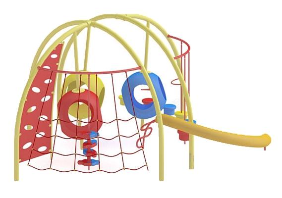 儿童滑梯33D模型【ID:217337429】