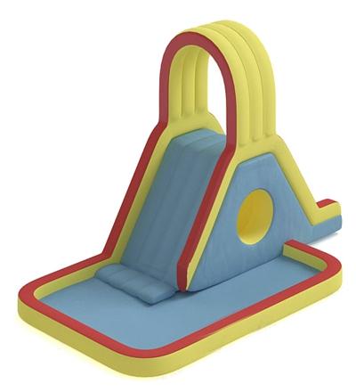 儿童滑梯53D模型【ID:217337436】