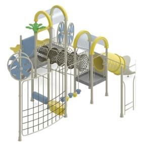 儿童滑梯173D模型【ID:217337467】