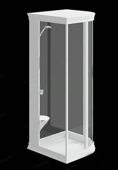 淋浴间23D模型【ID:217340567】