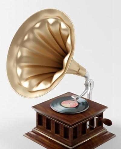 唱片机13D模型【ID:217361656】